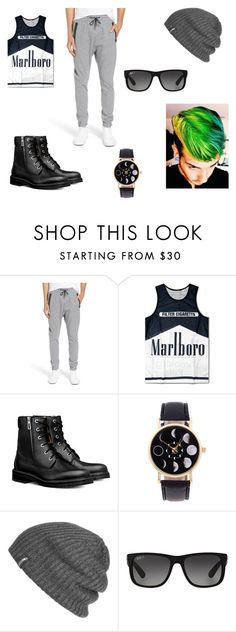 """""""joker"""" by izzybellah-1 on Polyvore featuring Zanerobe, Outdoor Research, Ray-Ban, men's fashion and menswear"""