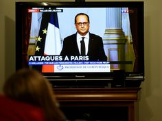 """French President Francois Hollande has this morning pointed the finger of blame for last night's Paris attacks squarely at Islamic State (ISIS), describing the attack as an """"act of war"""""""
