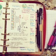 #ShareIG My weekly section that I use as a journal/scrapbook!!  #filofax #planneraddicts #organize #katespadeplanner