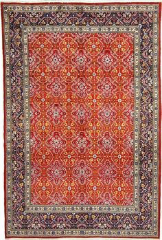 6 10 X 3 Red Mood Area Rug