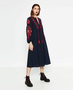 Imagem 1 de VESTIDO COMPRIDO da Zara
