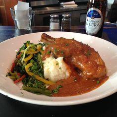 thatchillaxdude.com #thatchillaxdude  Lamb shank!   #travel #instatravel #worldtravel #walkabout #wanderlust #travelfood  #foodporn #foodaddict #foodie #instafood #showmeyoureggs #cheatday #cheatdayeveryday #lambshank #michelobultra