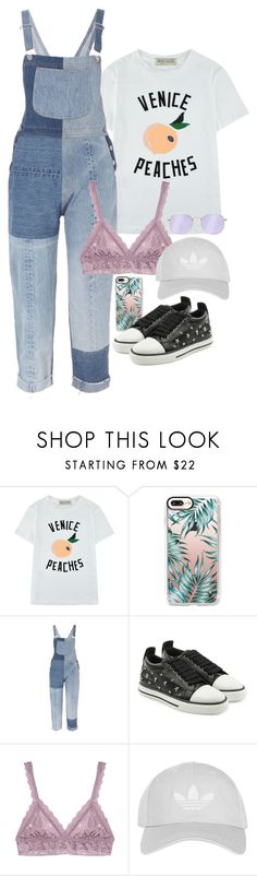 """""""Halsey-Inspired #378"""" by halseys-clothes ❤ liked on Polyvore featuring Être Cécile, Casetify, RE/DONE, RED Valentino, Hanky Panky, Topshop, Ray-Ban, halsey, ashleyfrangipane and halseymusic"""