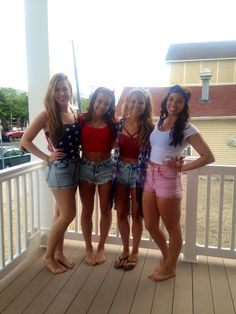 Forth of July #outfits #bestfriends