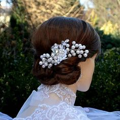 Svadobná spona do vlasov La Selline