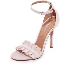 8ac110a10bd9 Michael Kors Collection Priscilla Sandals ( 215) ❤ liked on Polyvore  featuring shoes