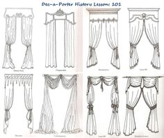 History lesson: Classical Curtain styles