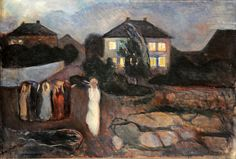 Edvard Munch - The Storm, 1893