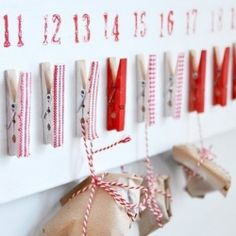 Advent/Count down calendar