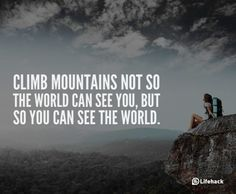 See the World | 20 Inspirational Quotes About Changing Yourself