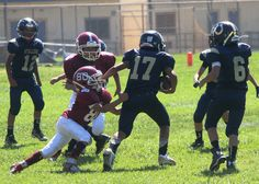 9.26.2015 Jr Pee Wees Stallions vs Bell Garden Lancers at home
