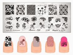 Hot Off The Stamping Press: Marianne Nails Nail Art Stamping Plates (Updated!)