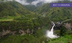 Groupon - ✈ 9-Day Ecuador and Amazon Tour with Airfare and Some Meals from Gate 1 Travel. Price/Person Based on Double Occupancy. in Quito and the Amazon. Groupon deal price: $1,099