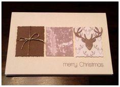 noch eine (Ge)weihnachtskarte... | Card Creations by Ellis van Veenendaal | Bloglovin'