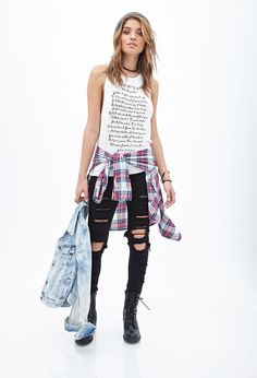 Muscle Tee Outfits-20 Ways to Wear Muscle Tees for Girls Fashionably b09d0f9e026