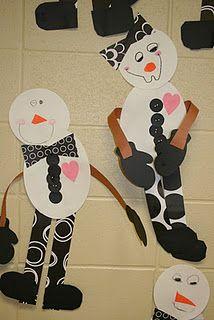 More cute snowmen