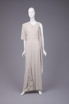 Dress Gilbert Adrian, 1940s The Goldstein Museum of Design