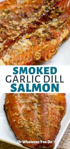 Salmon recipes 145241156719394040 - Garlic Dill Smoked Salmon was SO GOOD. Source by orwhateveryoudo Traeger Salmon, Smoked Salmon Brine, Best Smoked Salmon, Smoked Salmon Recipes, Smoked Fish, Traeger Recipes, Grilling Recipes, Fish Recipes, Seafood Recipes