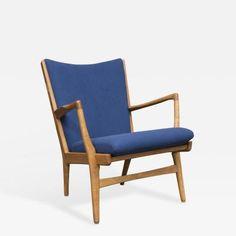 Hans Wegner Lounge Chair, Model AP 16 by Hans  Wegner