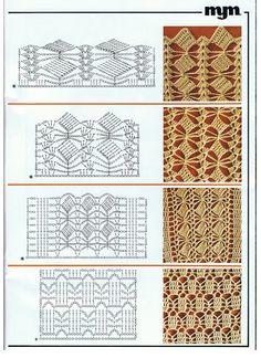 Patterns and motifs: Crocheted motif no. 779