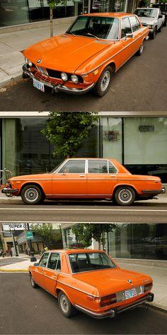 1973 BMW Bavaria / 2.8l L6 / US exclusive Max Hofmann / Germany / orange / E3 / Oldparkedcars / 17-342