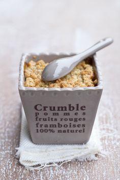 Pear Ginger Crumble (recipe translator)
