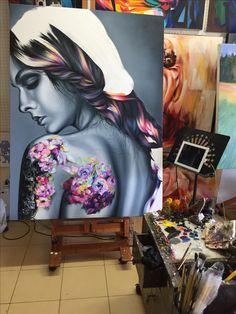 My art work . Original art by Warisara Meenun from Art rock gallery@Rawai,Phuket,Thailand