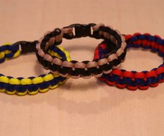 Here is another good bracelet idea that might tie-in with the Hunger Games survival craze.