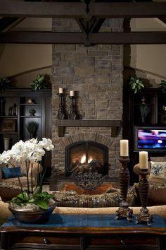 Fireplace ideas.