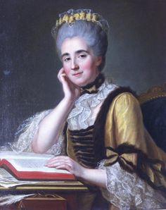 Autre portrait de la maison, Madame Jeanne Mahieu né Huré 1736-1823, par Guillaume Voiriot
