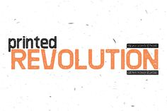Revolution Printed by monogram on Creative Market