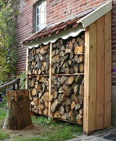 This article contains best and the most decorative DIY firewood racks.