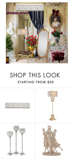 """""""Precious details"""" by nicolevalents ❤ liked on Polyvore featuring interior, interiors, interior design, home, home decor, interior decorating, Safavieh, Buccellati, Leeber Limited and Universal Lighting and Decor"""