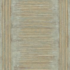 allen   roth�Brown Strippable Non-Woven Paper Prepasted Wallpaper