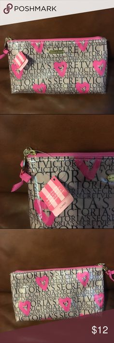 Victoria Secret Makeup Case Used a few times but looks new and still has tags on it. Victoria's Secret Makeup