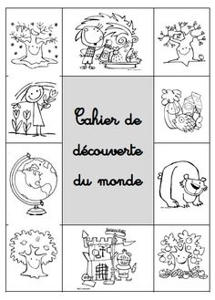 Pages de garde ddm French Teacher, Teaching French, Kindergarten Lesson Plans, French Immersion, Learn French, Elementary Schools, Kids Playing, Activities, How To Plan