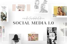 Social Media Template Bundle - Social Media #instagram #template