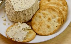 Boursin is a spreadable cow's milk cream cheese that comes in five flavors. My fave is flavored with garlic and herbs. You can buy Boursin in many groceries, but it is fairly easy to make something similar at home for a fraction of the cost. Here's the recipe.