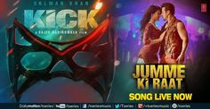 Jumme Ki Raat Lyrics, HD video, MP3 Download | Kick: today here we sharing lyrics of Jumme Ki Raat from the movie Kick which is Upcoming Movie of Bollywood. The star cast of the movie Kick are Salman Khan and Jaqueline Fernades.This song is sung by Indias most famous Punjabi Singer Mika Singh and this song is one of the most awaited songs of Mika Singh. Below we are sharing Jumme Ki Raat Lyrics, HD video, MP3 Download | Kick. shar.es/MzG5E
