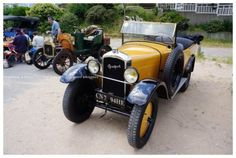 Voitures anciennes à Port Giraud ... Vintage Cars, Antique Cars, Car Ins, My Dream, Vehicles, Passion, Autos, Gates, Drawings