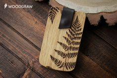business card holder, wood card holders, wooden wallet, gift for men, gifts for boss, coworkers, corporate gift, business gift - fern