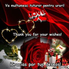 Multumesc! Anul Nou, Good Morning Messages, Wish, Love, Poster, Good Morning Wishes, Amor, El Amor, Posters