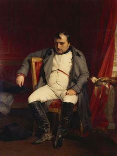 Hippolyte Paul Delaroche, Napoleon at Fontainebleau, 31 March 1814.