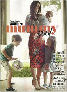 Precioso!!! Nagore Aramaburu con sus hijos vestidos de Búho en Vogue kids!!! Podeis encontrar la colección de Búho en su tienda Neroli by Nagore, en San Sebastian #katyandco #buho #barcelona # kidswear #nerolibynagore