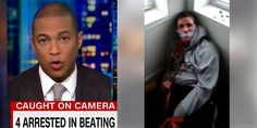 A mentally disabled white man was kidnapped, held prisoner for days and tortured live stream on Facebook by four Chicago thugs and guess what CNN's Don Lemon told his panel of guests? &#82…