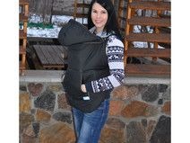 Baby Sling Cover Black (winter)