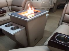 pontoon fire pit table - Google Search
