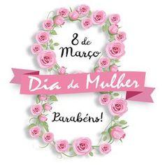 DIA DA MULHER - 8 de março. Ilustração para o Dia da Mulher