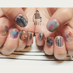 ◼️▪️◻️ #Nail#art #nailart…