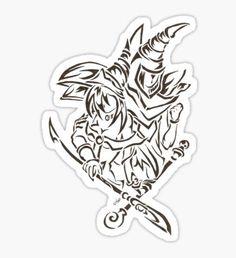 Yugioh stickers featuring millions of original designs created by independent artists. Anime Tattoos, Body Art Tattoos, Tribal Tattoos, I Tattoo, Girl Tattoos, Yugioh Monsters, Anime Monsters, Yugioh Tattoo, Future Tattoos